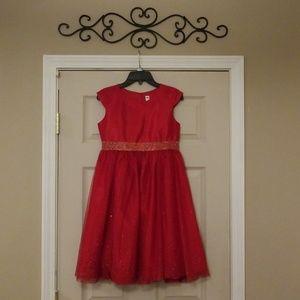 Cherokee brand red dress